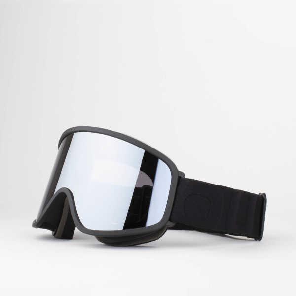 Flat Black Silver
