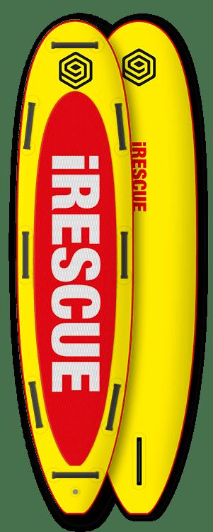 "iSUP 10'8"" RESCUE w/o Pump"